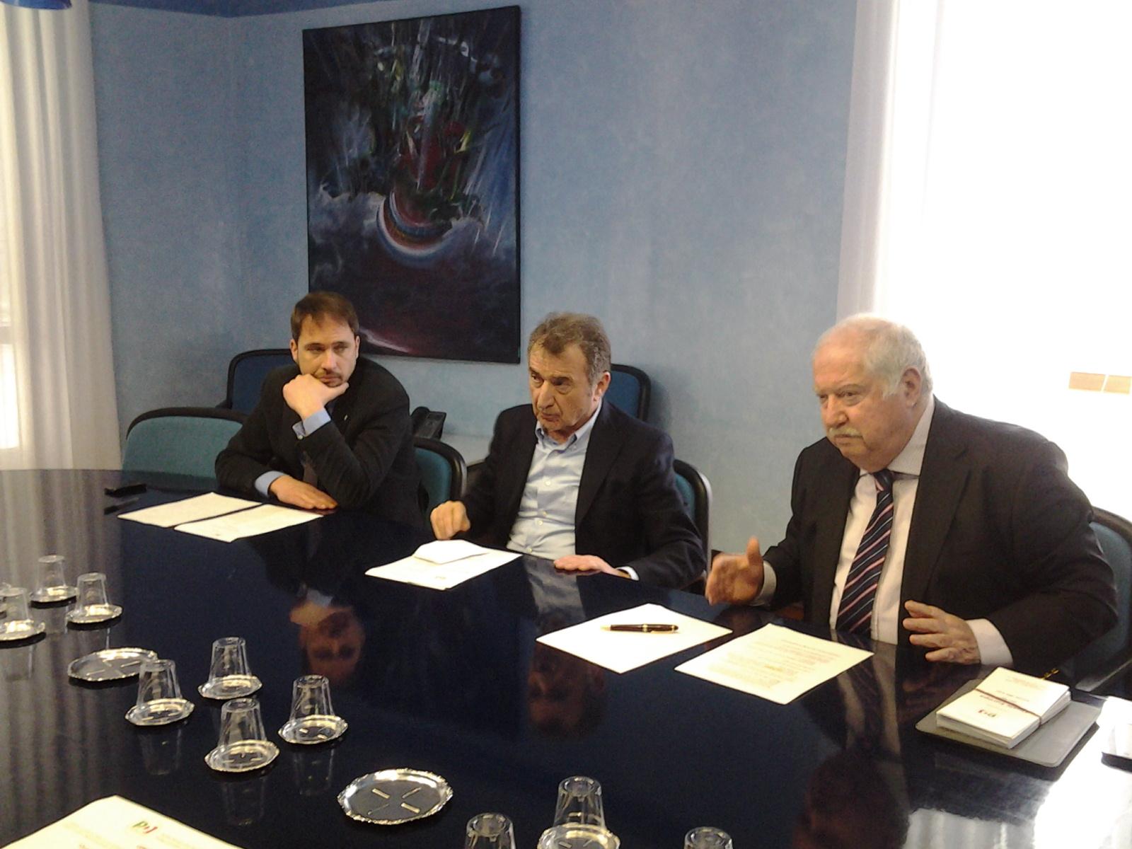 Cristiano Shaurli, Renzo Travanut e Giorgio Rossetti
