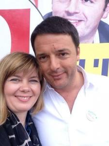 selfie Renzi-De Monte
